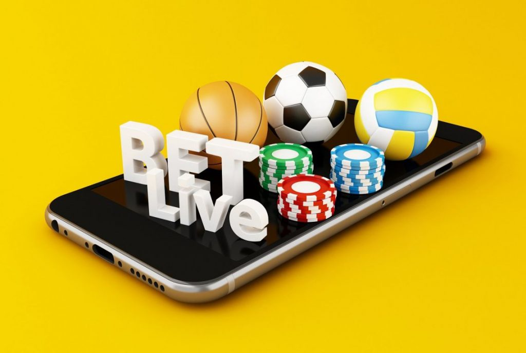 Live football betting